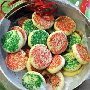 No roll sugar cookies