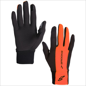 Hardcore runner Brooks pulse lite gloves nightlife