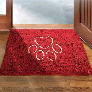 Dirty dog door mat