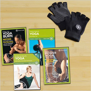 Results Yoga workout DVD kit