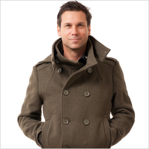 Man wearing jacket