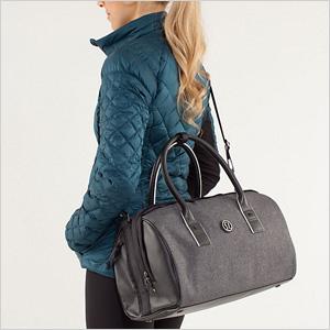 Perfect Male Women39s Small Handbag Cylinder Bag Travel Barrel Gym