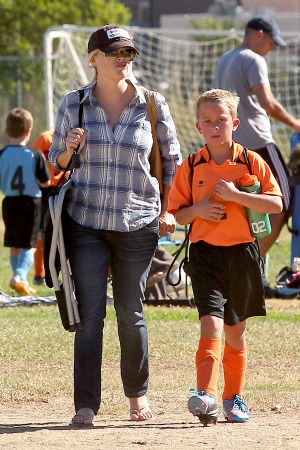 Reese Witherspoon and her older son, Deacon