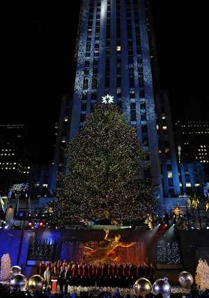 2011's Christmas tree at Rockefeller Center