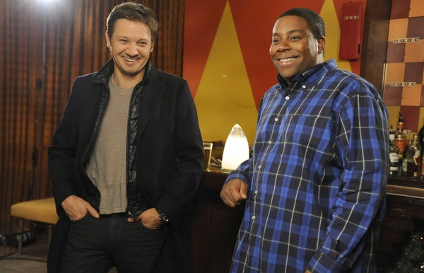 Saturday Night Live Jeremy Renner and Keenan Thompson