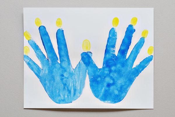 Hanukkah crafts for kids for Hanukkah crafts for adults