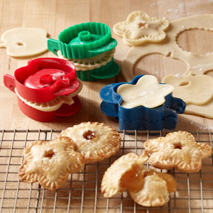 Mini pocket pie molds
