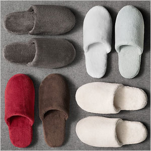 Luxury slippers