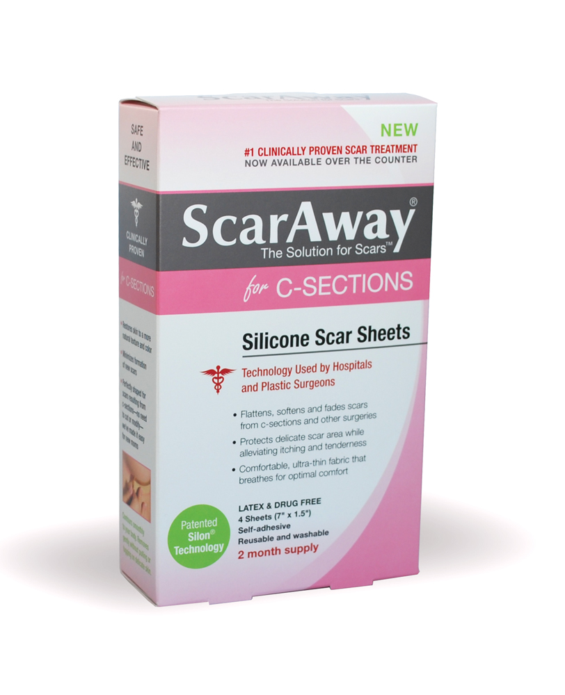 ScarAway C-Section Silicone Scar Sheets