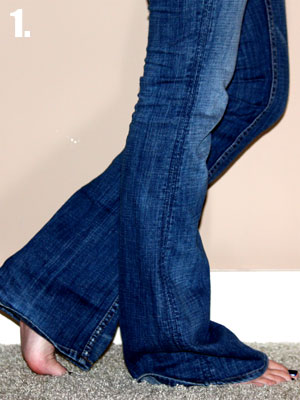 How to tuck non-skinny jeans into boots | Get It Joburg South