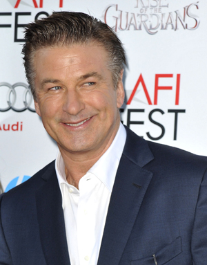 Alec Baldwin at Rise of the Guardians premiere