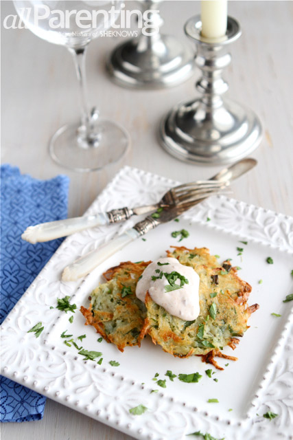 Baked potato pancakes PIN