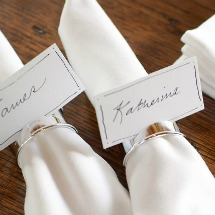 Thanksgiving table napkin placecard