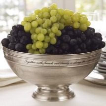 Thanksgiving grape centerpiece