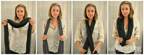 How to wear a circle scarf circle scarf basic style ccuart Image collections