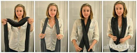 Circle scarf basic style