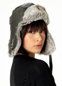 rabbit aviator cap