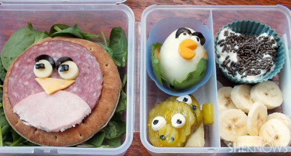Angry Birds Bento Box
