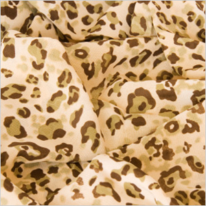 Animal print scarf
