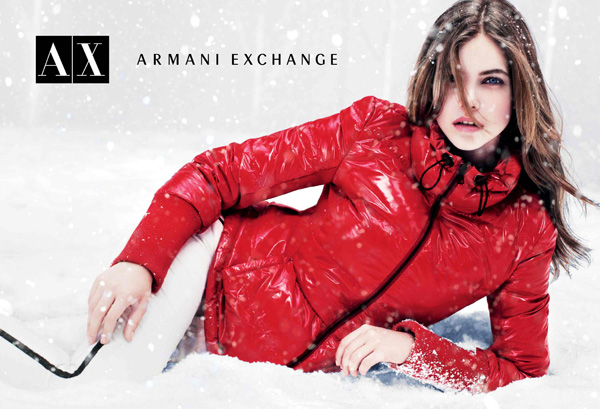 Armani Exchange Holiday 2012