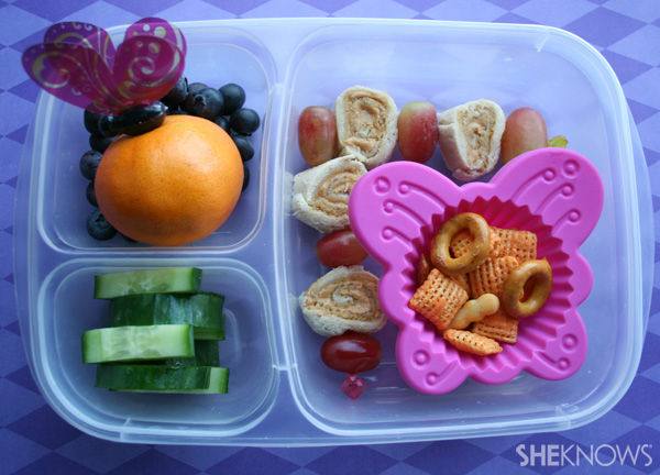 Butterfly bento box