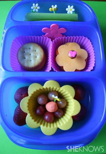 Flower Power bento box