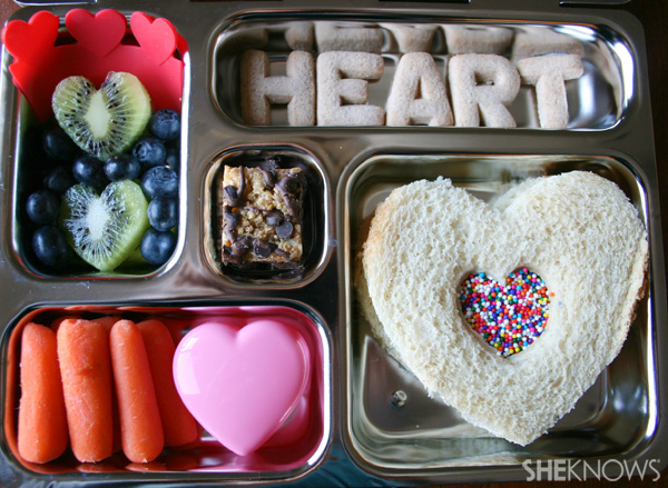 I Heart Your bento box