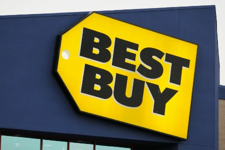 Best Buy sign