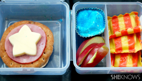 Captain America Bento Box