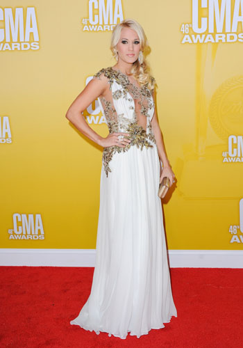 Carrie Underwood - Best Dressed - 2012 CMA Awards