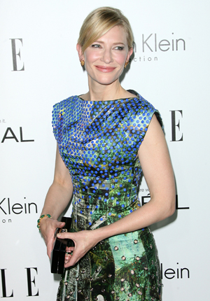 Cate Blanchett at Elle upfronts