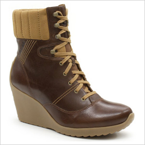 Tsubo Hadley Lace-Up Wedge Boots
