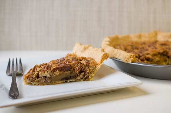 Chocolate chip bourbon pecan pie