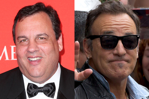 Chris Christie loves Bruce Springsteen