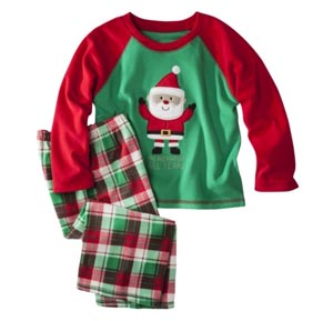 Pajamas for opening gifts