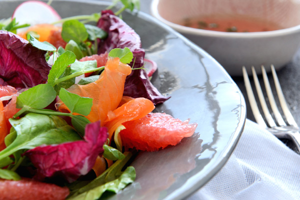 Salmon & citrus salad recipe