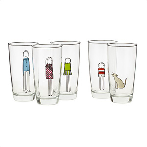 Family glassware