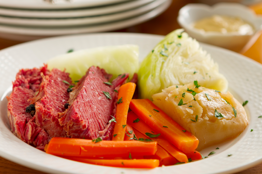 Corned beef and cabbage is a popular Saint Patrick's Day recipe that ...