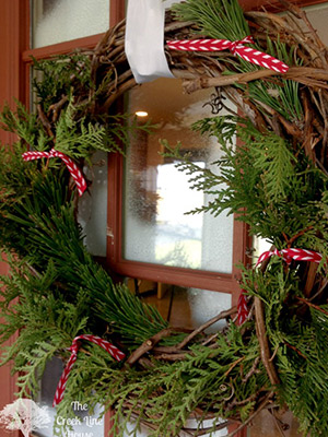 The Creek Line Christmas wreath