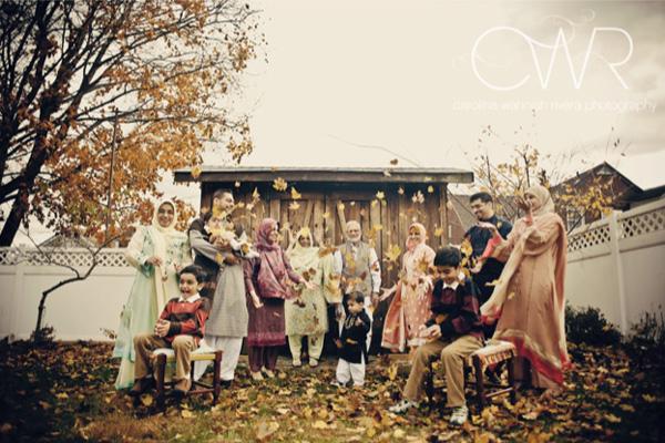 Eid family photo