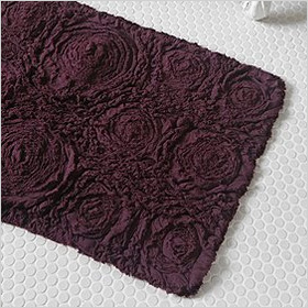 Purple bathmat