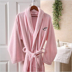 Embroidered Luxury Fleece Robes