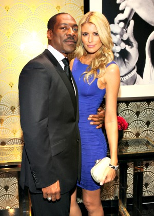 Eddie Murphy and girlfriend