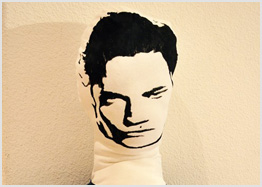 Edward Cullen pillow, $15.