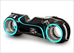 Tron motorcycle, $55,000