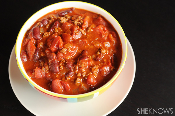 Chili is a hot family meal
