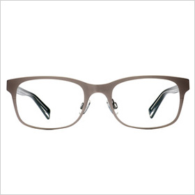 Our pick: Marlowe Brushed Platinum frames ($145)