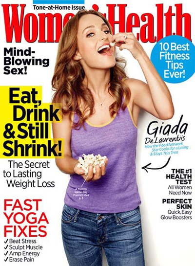 Giada de Laurentiis on Women's Health