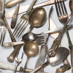 Mix-and-match flatware