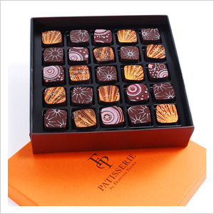 Francois Payard 25 piece Holiday Chocolate Collection, Francois Payard Bakeries locations or payard.com, $52